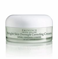 Eminence Bright Skin Overnight Correcting Cream - 2 oz