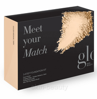 Glo Skin Beauty Meet Your Match Foundation Kit - Golden Medium/Dark - 5 pcs