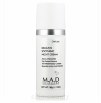 M.A.D Skincare Delicate Soothing Night Cream - 1.7 oz