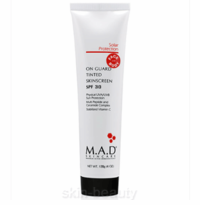 M.A.D Skincare On Guard Tinted SunScreen SPF 30 Physical Sun Protection - 4 oz (800102)