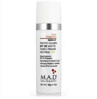 M.A.D Skincare Photo Guard SPF 50 Matte Finish Primer Neutral - 1 oz (800109)