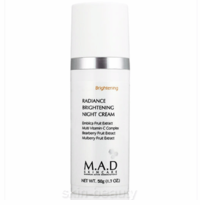 M.A.D Skincare Radiance Brightening Night Cream - 1.7 oz (500414)
