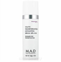 M.A.D Skincare Youth Transformation Exfoliating Serum 10% AHA - 1 oz (101608)