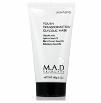 M.A.D Skincare Youth Transformation Glycolic Mask - 2 oz (101015)