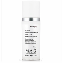 M.A.D Skincare Youth Transformation Glycolic Moisturizer 7% - 1.7 oz (103108)