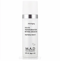 M.A.D Skincare Youth Transformation Retinol Serum 2% - 1 oz (101208)
