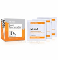 Murad Rapid Resurfacing Peel 10% Glycolic Acid - 16 wipes