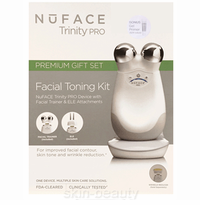 Nuface Trinity Pro Facial Toning Kit with ELE Attachment and Gel Primer (40291)