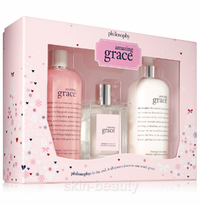 Philosophy Amazing Grace Jumbo Gift Set - 3 pcs