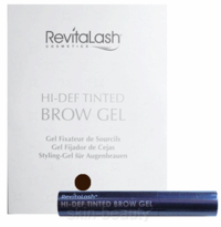 RevitaLash Hi-Def Tinted Brow Gel Travel Size - Dark Brown - 0.1 oz