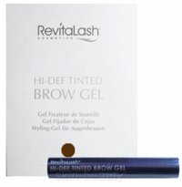 RevitaLash Hi-Def Tinted Brow Gel Travel Size - 0.1 oz - Soft Brown