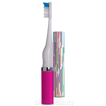 Violife Slim Sonic Classic Electric Toothbrush Tickled Pink