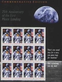 25th Anniversary Apollo 11 Landing