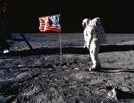 Apollo 11 Aldrin Flag