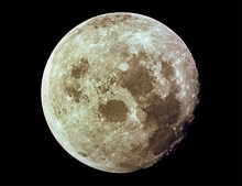 Apollo 11 Full Moon