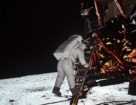 Apollo 11 Stepping Down