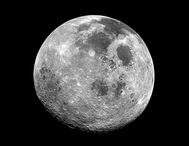 Apollo 17 Full Moon