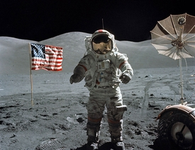 Apollo 17 Last Man on Moon
