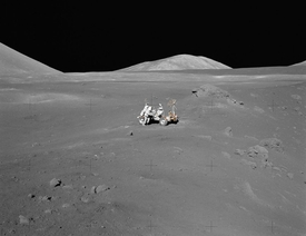Apollo 17 Magnificent Desolation