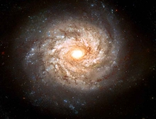 Big Bear Spiral Galaxy