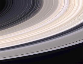 Cassini Saturn Ringscape