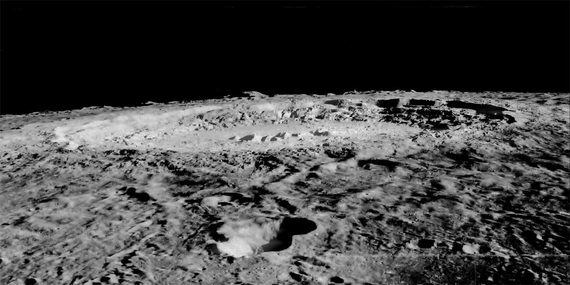Copernicus from Lunar Orbiter
