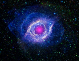 Eye of God in Blue