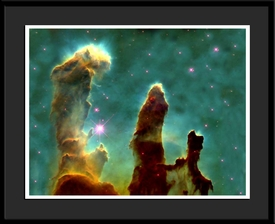 Framed Pillars of Creation