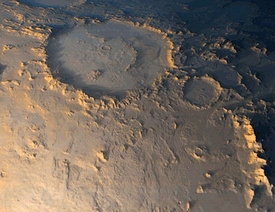 Happy Face on Mars