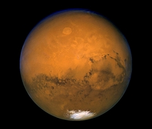 Hubble Closest Mars