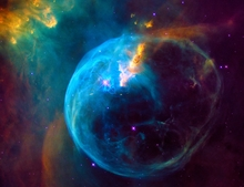 Hubble Giant Bubble Nebula