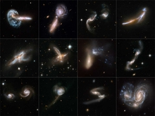 Hubble Interacting Galaxies