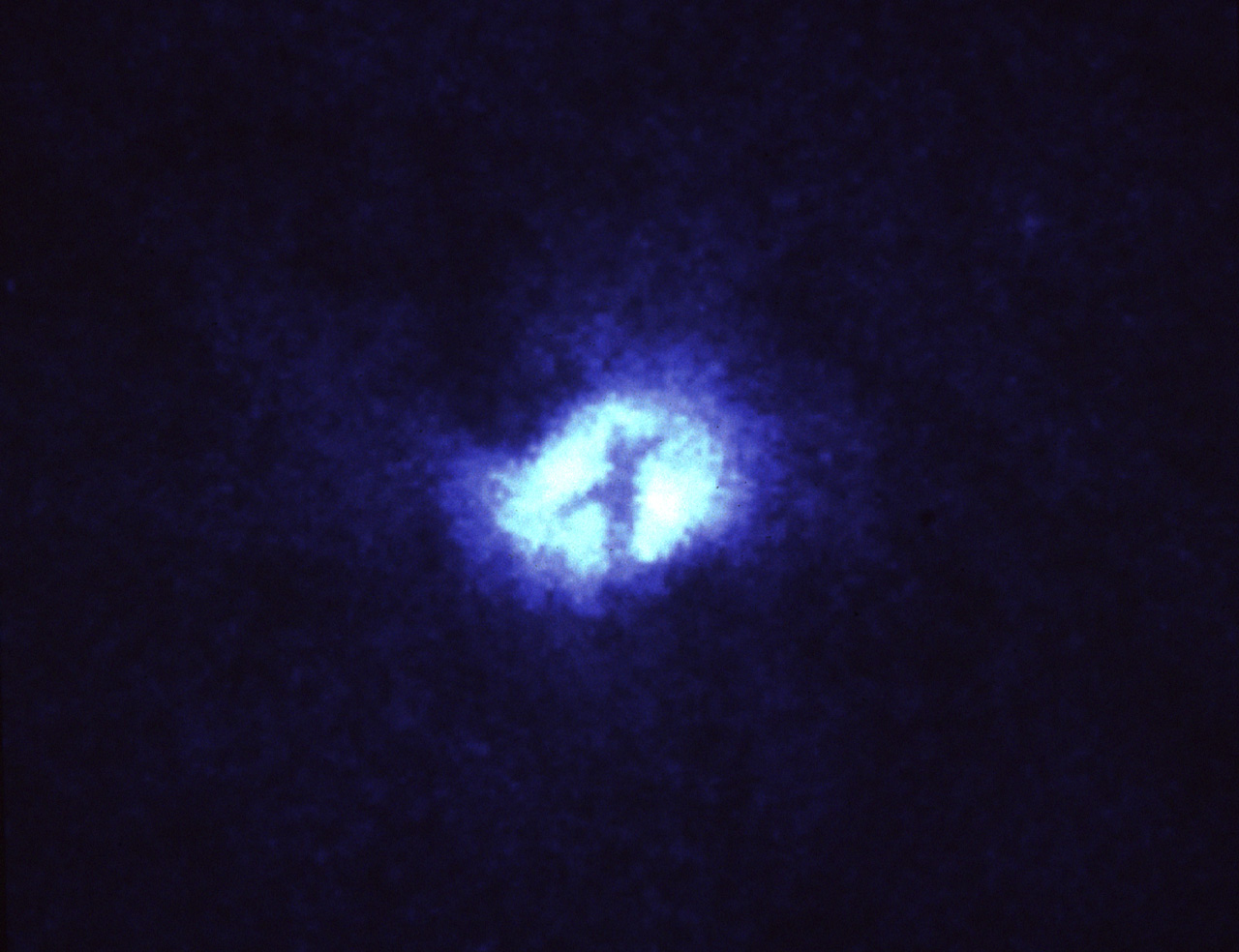 cross of hubble hubble cross m51 whirlpool galaxy sky