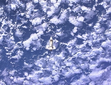 ISS Endeavour Cloud Mass