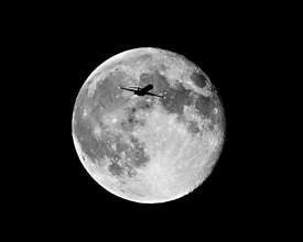 Jet in the Moon