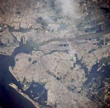 Long Island from Space