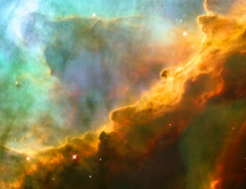 M17 Inside the Swan Nebula