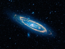 M31 Infrared Andromeda Galaxy