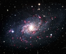 M33 Spiral Galaxy in Trianglum
