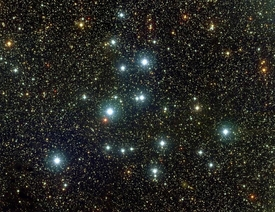 M39 Open Cluster in Cygnus