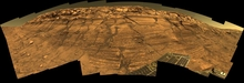 Mars Burns Cliff Panorama
