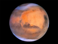 Mars Perfect Dust Storm
