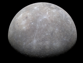 Messenger Passes Mercury