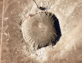 Meteor Crater Earth