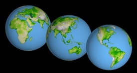 NASA World Globes