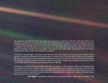 Pale Blue Dot Photo