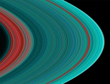 Saturn Rings from the Inside
