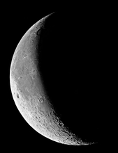 The Waning Crescent Moon