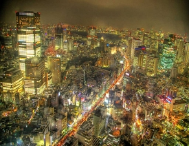 Tokyo Nightscape HDR