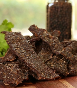 Peppered Brisket Jerky (16 oz.)
